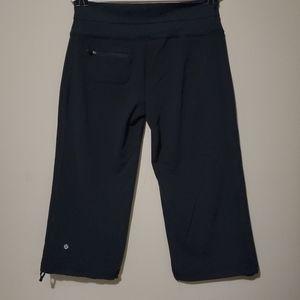 Lululemon Wide Leg Yoga Pant Crop Adjustable Leg